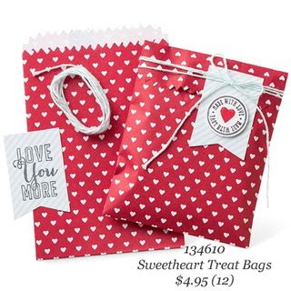 #stampinup #WholeLotOfLove #Valentines #dostamping #SweetheartTreatBags