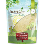 Food to Live Blanched Almond Meal / Flour (1 Pound)