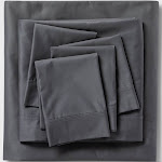 Queen 6pc 800 Thread Count Solid Sheet Set Gray - Threshold Signature