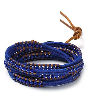 Chan Luu Lapis And Natural Thread Five Wrap Bracelet - Contemporary - Bloomingdale's