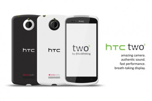 HTC Two X, Successor of the One X Borrows From HTC Titan II and J Butterfly (Video)