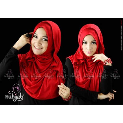foto kerudung hijab polos instant  trendi dreamcoid