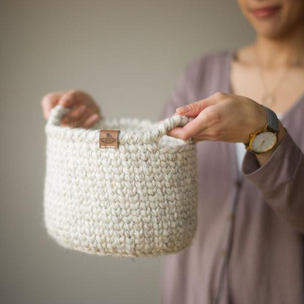 Crochet Kit - Waistcoat Basket