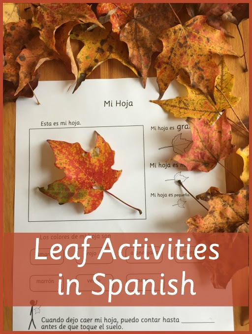 Leaf Activities in Spanish for Fall Fun - Spanish Playground