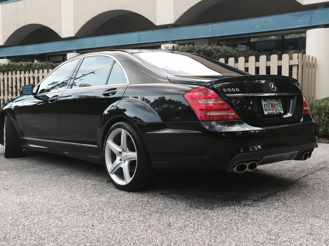 Amg Wheels On Non Sport Package 08 S550 Mbworld Org Forums