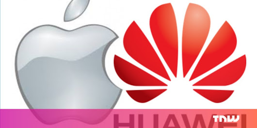 Huawei just beat Apple as the world's second biggest smartphone maker