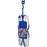 Gear Beast - Cell Phone Lanyard Holder with Card Holder - Navy