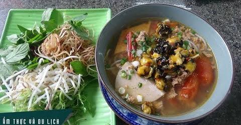 Bún riêu cua ốc Ninh Thuận có một không hai ở Sài Gòn
