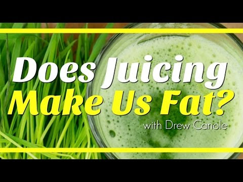 Does Juicing Make You Fat? With Drew Canole and Natalie Jill