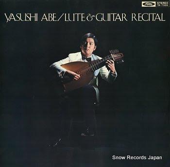 ABE, YASUSHI lute & guitar recital
