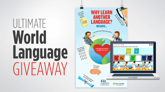 Ultimate World Language Giveaway (Win Posters and Digital Language Courses for Your Class!) - WeAreTeachers