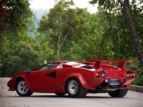 1985 Lamborghini Countach LP5000 S Quattrovalvole lp5000 classic supercars supercar f wallpaper