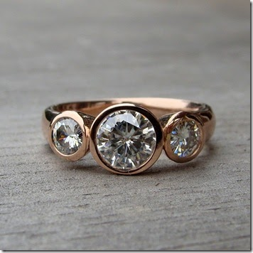 Ronenias Blog This Unique Handmade Wedding Ring Features A Hammered