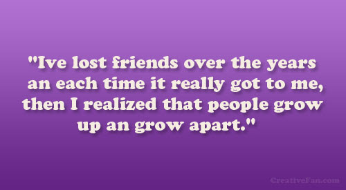 Quotes About Never Growing Apart 20 Quotes
