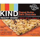 Kind Healthy Grains Granola Bars, Peanut Butter Dark Chocolate - 5 count, 6.2 oz box