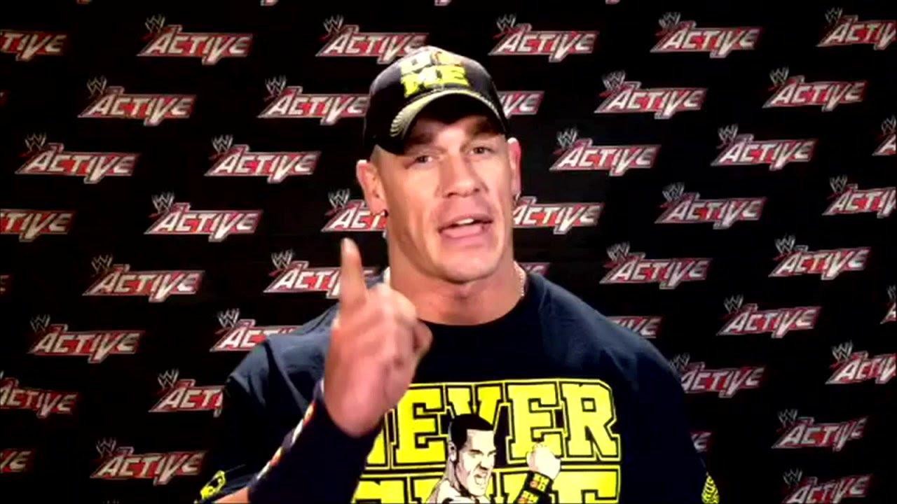John Cena mówi o podróży WWE.