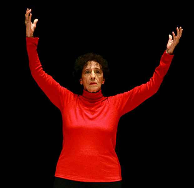 Coreógrafa e profesora Angel Vianna é um dos nomes mais importantes da dança brasileira. Crédito: Palco Giratório/Divulgação