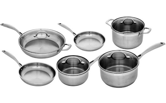 Swiss Diamond 10 Piece Stainless Steel Cookware Set Giveaway