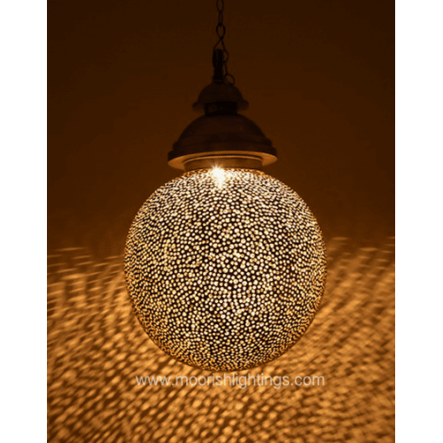 Modern Pendant Lights | Moroccan Filigree Pendant Lights - Moorish Architectural Design