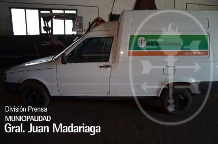 Denunciaron la aparición de vehículo municipal con pedido de secuestro activo