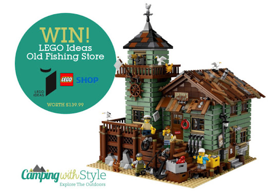 WIN! Signed Box LEGO Ideas Old Fishing Store Worth £139.99