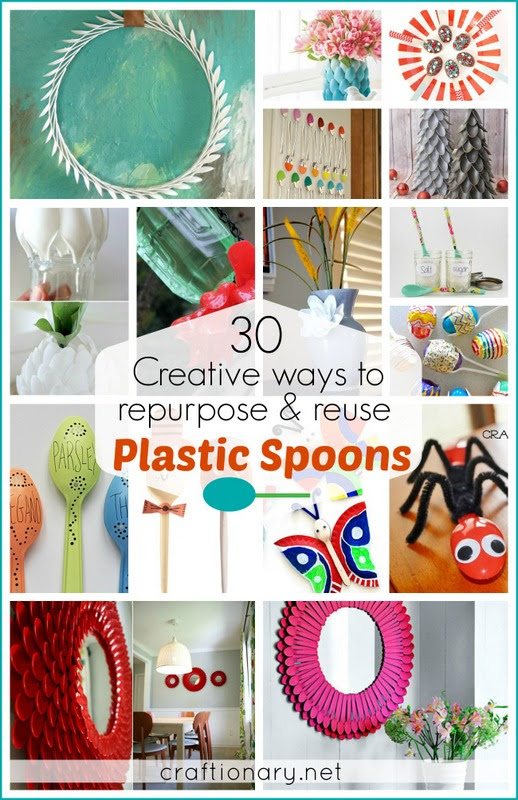 30 Best Creative Plastic Spoon Projects - Craftionary