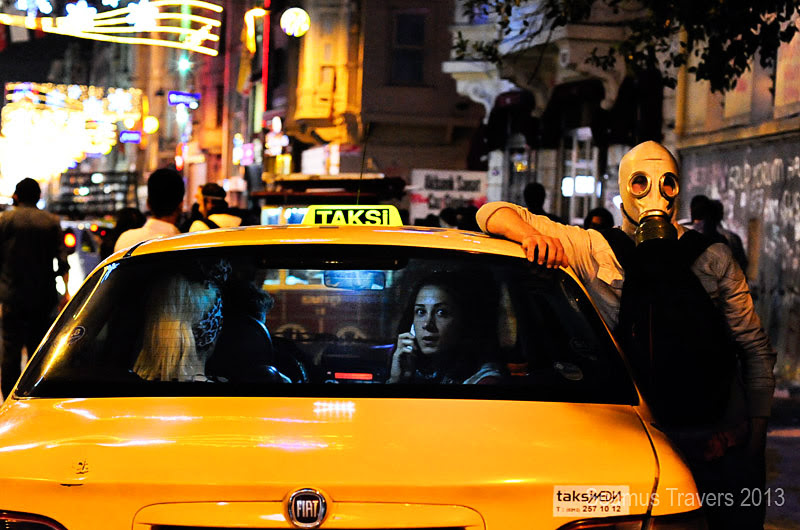 Taksim, Taxi's and Teargas by Treamus