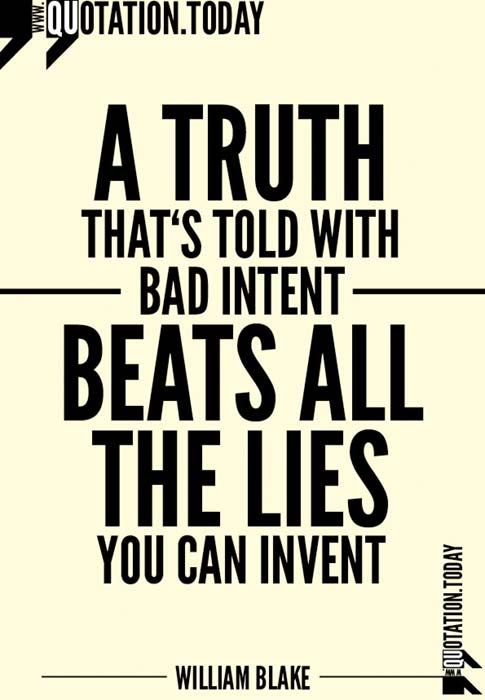Quotes About Truth And Lies 460 Quotes