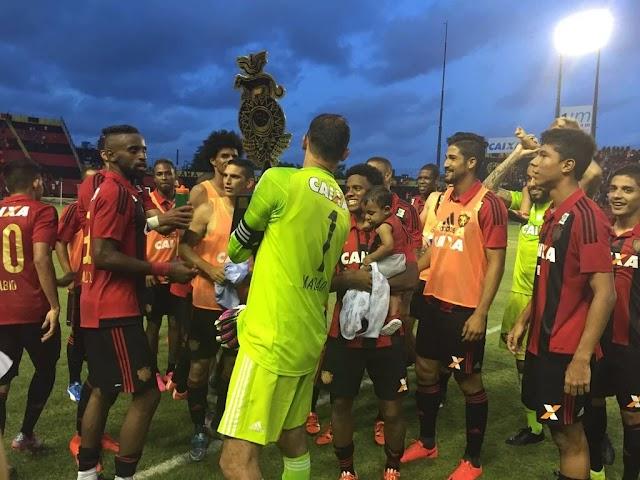 Sport bate Argentinos Jrs e fatura a Taça Ariano Suassuna
