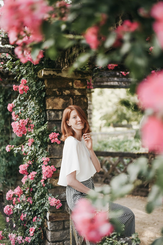 Rose Garden • The Ginger Diaries