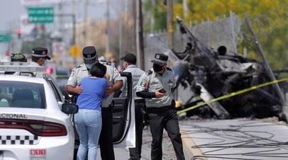 В Мексике один человек погиб при крушении вертолёта
