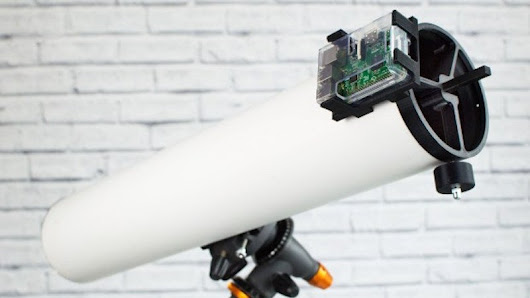 Build Your Own Raspberry Pi-Powered Telescope