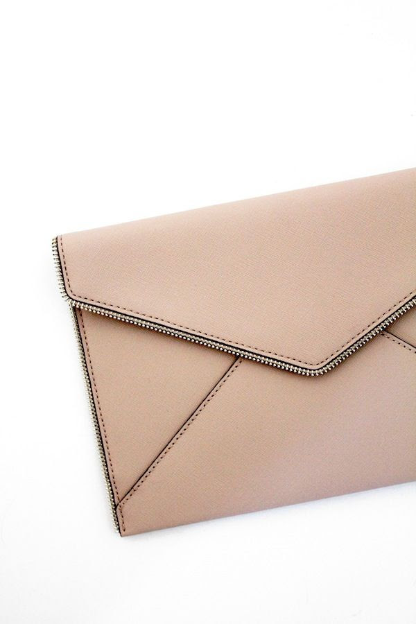 Le Fashion Blog Holiday Party Style Rebecca Minkoff Leo Envelope Nude Blush Clutch Nordstrom