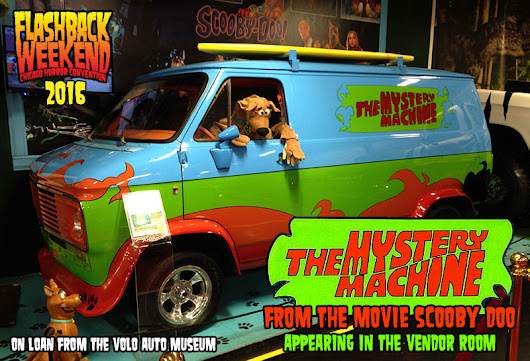 Special Photo Op with Matthew Lillard & The Mystery Machine at Flashback Weekend 2016