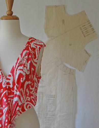 Coral dress sneak peek
