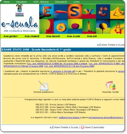 http://escuola.provincia.brescia.it/esamestato/index1.php