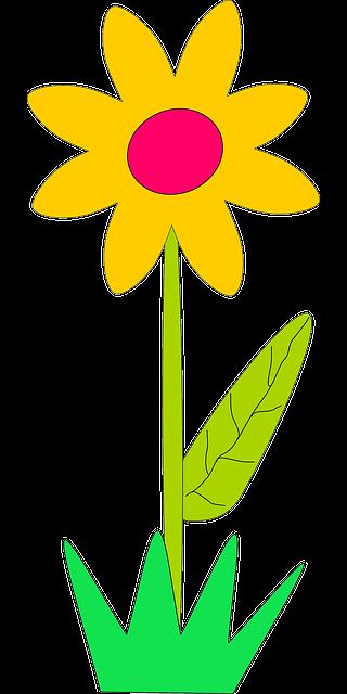 Gambar Bunga Matahari Clipart Clipart Best