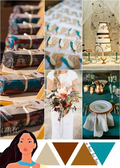 Copper, Gold and Teal Metallic Wedding Color Scheme