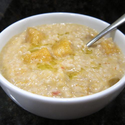 Asian Butternut & Rice Soup