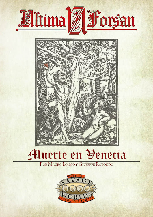Ultima Forsan Digital: Muerte en Venecia — HT Games Publishers