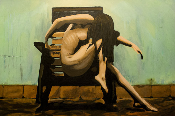 Take Away My Pain - A Painting Depicting Depression ...