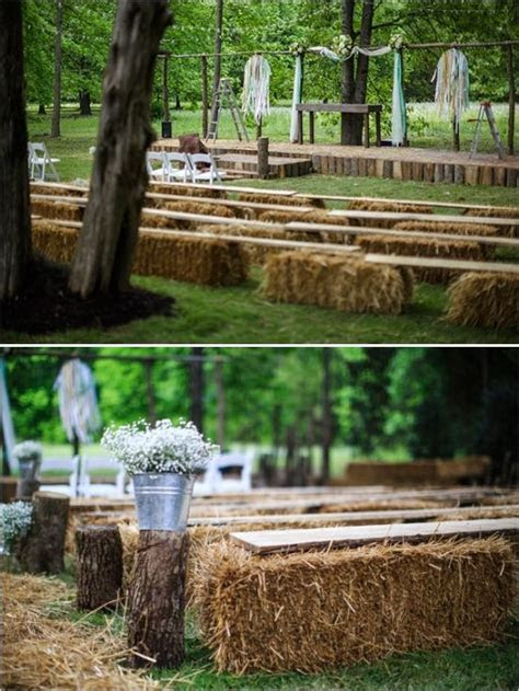 25 Chic Rustic Hay Bale Decoration Ideas for Country
