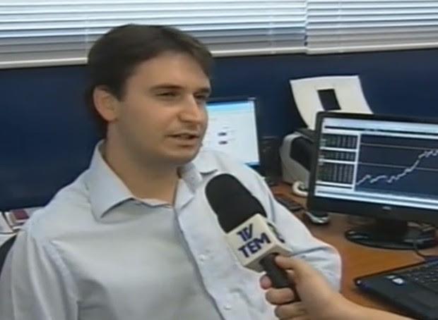 Demival, há um ano, durante entrevista à TV Tem (Foto: Reprodução / TV Tem)