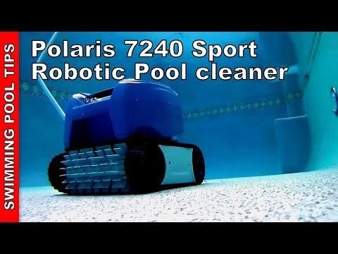 Swimming Pool Tips Amp Reviews Polaris 7240 Sport Robotic