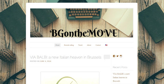 Follow Them Friday: BG on the Move | Brussels Food Friends