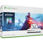 Microsoft Xbox One S Battlefield V Bundle - 1 TB - White