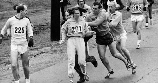 First Woman to Enter Boston Marathon Runs It Again, 50 Years Later - The New York Times