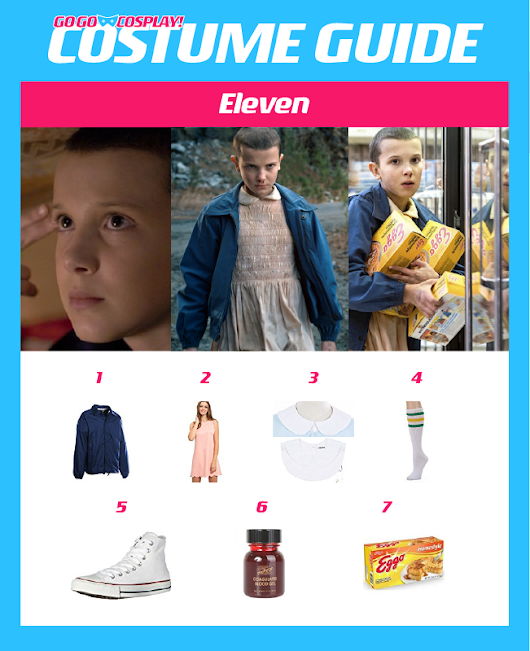 Make Your Own Eleven from Stranger Things Costume
