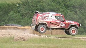 A Bowler Wildcat during the 2005 Goodwood Fest...