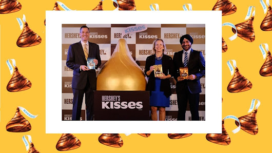 Hershey's iconic Kisses Chocolate launch in India leads charge into chocolate category | MediaBrief
